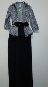 Other - Top w/Belt and Wideleg Pants (M)
